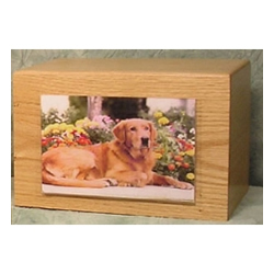 Pet Urns by HTW - Urns for pets, dogs, cats, loss, death, jewelry, ashes, retail, wholesale, minnesota, united states, vet clinic, veterinarian, family pets, Solitude Wood Pet Urns